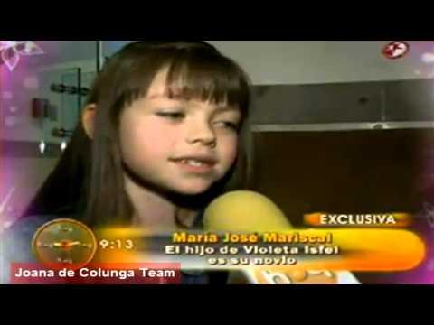 María José Mariscal: (Valentina) ¡Ya tiene novio real! Omar Isfel