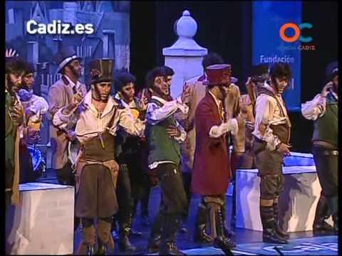 Sesión de Cuartos de final, la agrupación La knalla actúa hoy en la modalidad de Comparsas.