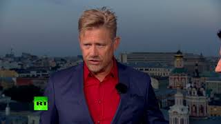 Proud Dad & Proud Dane: Peter Schmeichel speaks on Denmark's World Cup performance - RUSSIATODAY