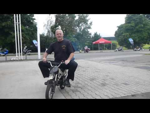 Bikerfest in Bad Bayersoien - Pocket Bike