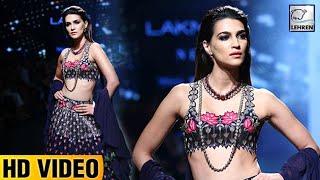 Kriti Sanon's ROYAL Look At Lakme Fashion Week 2017 | Lehren TV