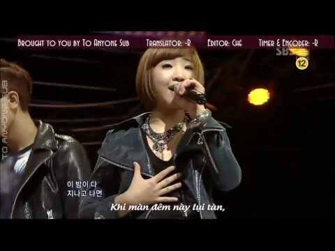 [TAS][Vietsub] 2NE1 - In the Club (Live - SBS Inkigayo) [HD]