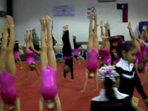 "Level 4 Gymnastics Handstand Contest. *Deisy Fuentes* ""South State Competition 2009""."