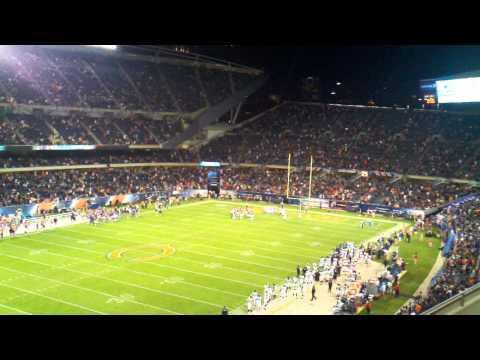Chicago bears touchdown
