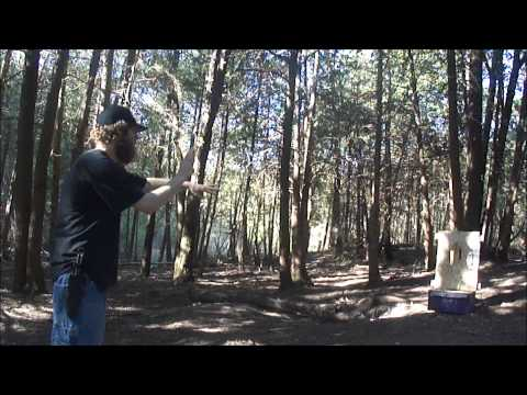 NO SPIN THROWING - COLD STEEL TRUE FLIGHT THROWER