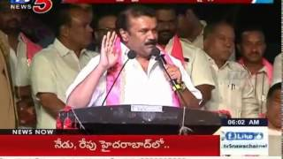 3 T-TDP MLAs Migrated To TRS Party | Telangana : TV5 News - TV5NEWSCHANNEL