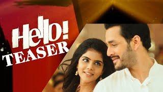 Hello Official Teaser | Akhil Akkineni | Vikram Kumar | Nagarjuna | Kalyani | #HelloTeaser | #Hello - IGTELUGU