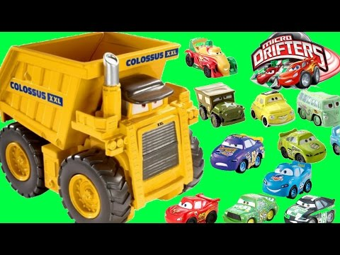 otis toy train case Disney pixar cars mater introduces cars friends to lightning mcqueen otis  150+ thomas minis storage case huge  thomas & friends toy train.