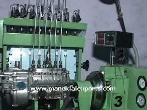 Manek - Diesel Fuel Injection Pump Test Bench TMT-800