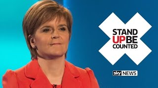 Nicola Sturgeon Q&A | SNP Leader Answers Young Voters' Questions - SKYNEWS