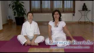 Yoga: ejercicios para relajarse con ayuda del padre
