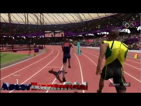 "OSCAR PISTORIUS ""BLADE RUNNER"" advances in MENS 400m LONDON 2012 SUMMER OLYMPICS review/sim"