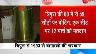 Tripura Assembly elections 2018: Voting begins on 59 seats - ZEENEWS