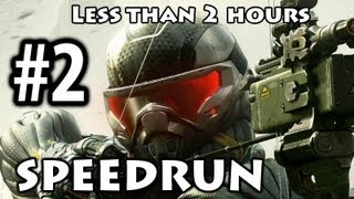 Crysis 3 - Speedrun Part 2 - Welcome to the Jungle [Commentary] [Less than 2h]