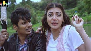 Enthavaraku Ee Prema Movie Kajal Boat Accident Scene | Latest Telugu Scenes | Sri Balaji Video - SRIBALAJIMOVIES