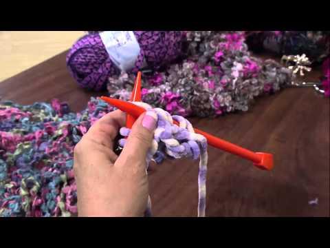 Mulher.com 30/04/2013 Vitória Quintal - Tricô cachecol  Parte 1/2