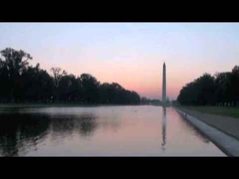 Time Lapse Sunrise over Washington - 8/31/10