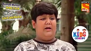 Goli Tricks The Watchman | Tapu Sena Special | Taarak Mehta Ka Ooltah Chashmah - SABTV