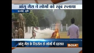 Police mock drill creates panic in MP's Hardoi - INDIATV