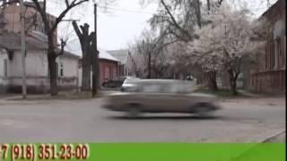 Уроки вождения по городу для начинающих водителей .