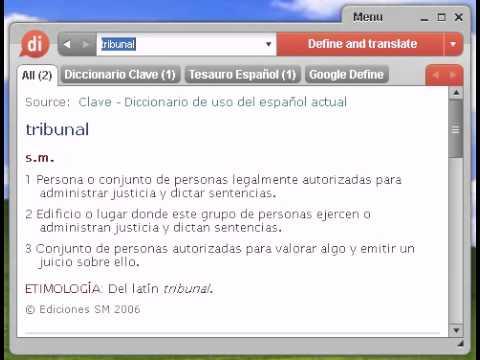 Definición de tribunal