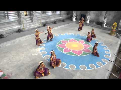 chitra school of dance by chinnamanur chitra at chidambaram natyanjali 2014