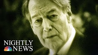 Charlie Rose Out Of A Job After Sexual Misconduct Allegations | NBC Nightly News - NBCNEWS
