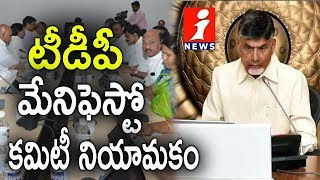 AP CM Chandrababu Naidu Announces TDP Election Manifesto Committee Members | iNews - INEWS