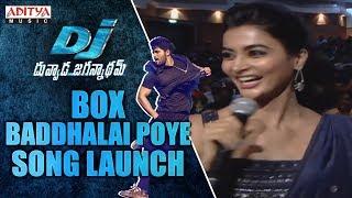 Box Baddhalai Poye Song Launch @ DJ Audio Launch Live Event - ADITYAMUSIC