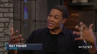 'Justice League' star Ray Fisher on movie and his character Cyborg - ABCNEWS