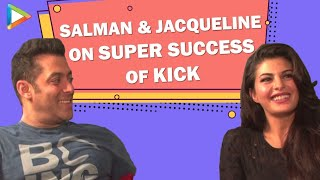Salman Khan Jacqueline Fernandez Exclusive On The Super Success Of Kick - HUNGAMA