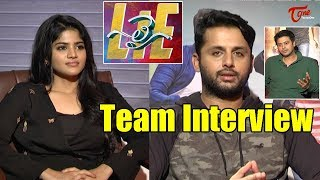 LIE Movie Team Interview | Nithiin | Megha Akash - TELUGUONE