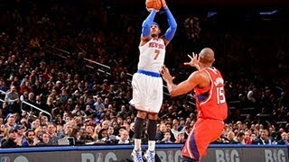 Carmelo Finishes with 42, Ties Franchise Record for 3s!