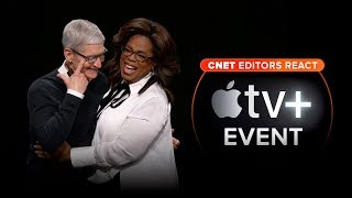 CNET editors react to Apple's TV Plus event - CNETTV