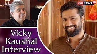 Vicky Kaushal Interview with Rajeev Masand | Manmarziyan | Sanju | Raazi | CNN News18 - IBNLIVE