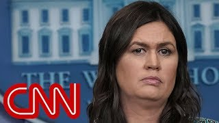 Sarah Sanders: I was kicked out of restaurant - CNN
