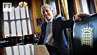 Who is the House of Commons Speaker John Bercow? - FINANCIALTIMESVIDEOS