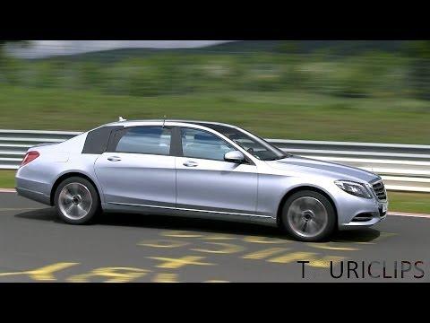 Autoperiskop.cz  – Výjimečný pohled na auta - Dlouhý Mercedes-Benz S Maybach při testování na Nürburgringu