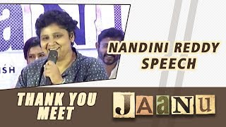 Nandini Reddy Speech - Jaanu Thank You Meet - DILRAJU