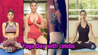 Yoga Day: Bollywood celebs show off poses - IANSLIVE