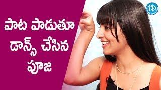 Pooja K Doshi Croons Ela Thelchaali Song || Talking Movies With iDream || #Kaadali - IDREAMMOVIES