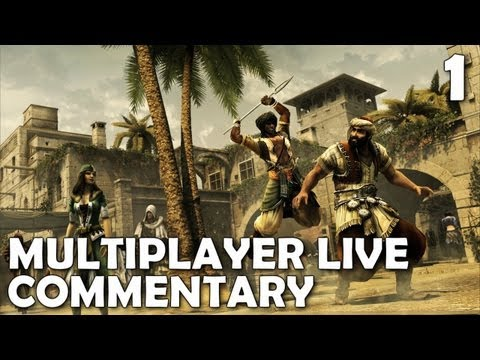 Assassin's Creed: Revelations Multiplayer - Live Gameplay Commentary (Deathmatch)