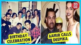 Tusshar Celebrates 40th Birthday   Aamir Calls Deepika After The Threats Over 'Padmavati' - ZOOMDEKHO