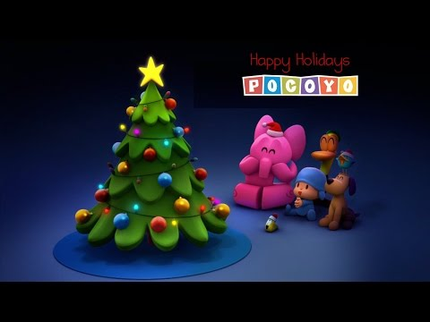 Christmas with Pocoyo: Let's decorate the Christmas tree!  (3/3)