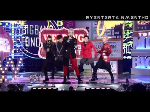 [HD][2011.02.27] Big Bang - Tonight (Comeback Stage)