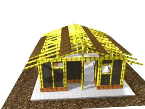 Casa en guadua
