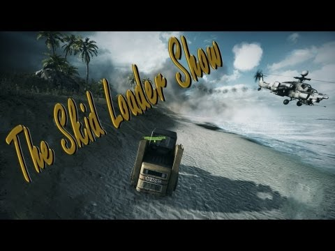 Battlefield 3 | The Skid Loader Show or Like A Boss Achievement | [HD 1080] [2013]
