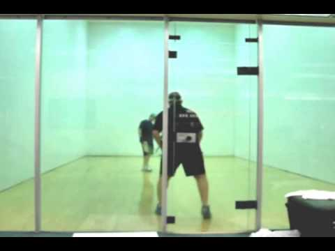 How to Play Racquetball - Game Play Analysis for Joe