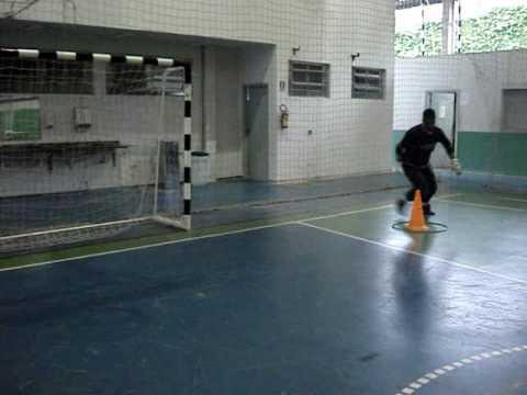 3) TREINAMENTO GOLEIROS FUTSAL GOALKEEPER TRAINING (PROF. TIAGO PONTES)