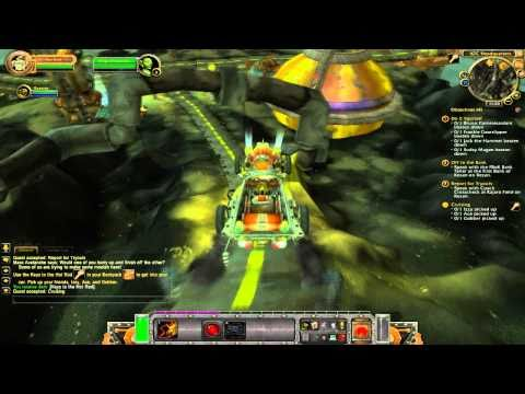 World of Warcraft Cataclysm Gameplay - Goblin Starter Quests
